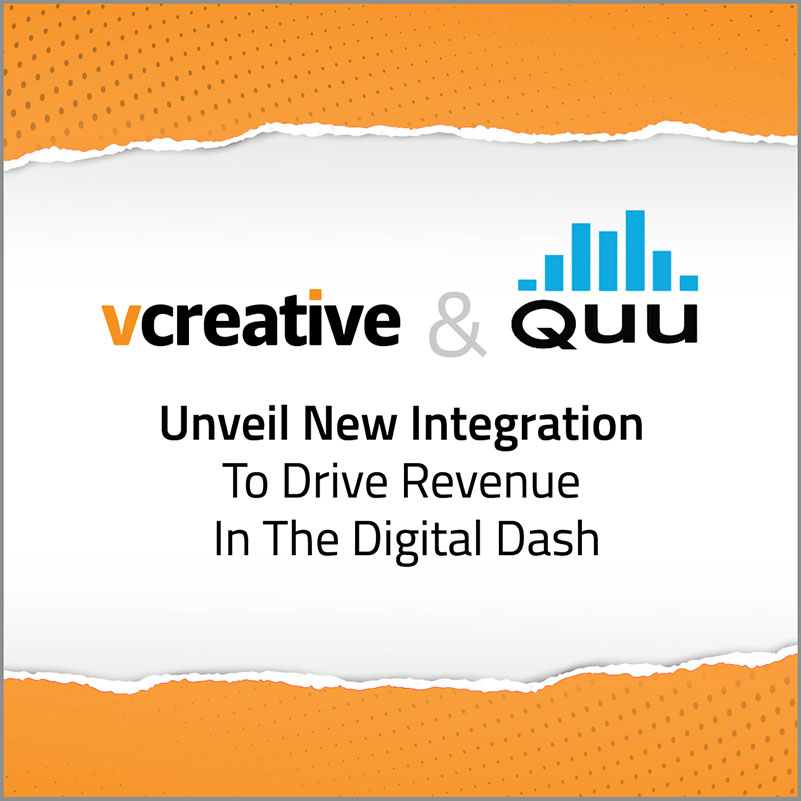 vCreative and Quu Unveil New Integration to Drive Revenue in the Digital Dash
